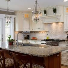 plain fancy cabinets charming kitchen design with transparent glass low hanging pendant