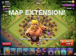 Clash Of Clans Maps Clash Of Clans New Map Extension Bigger Map New Update Youtube
