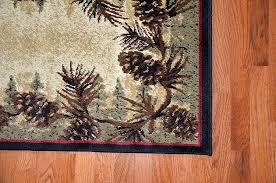 Brumlow Mills by Amazon Com Dean Mt Le Conte Pine Cone Lodge Cabin Carpet Runner