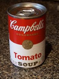Canned tomato condensed soup