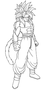 imagenes de goku para dibujar faciles con color imagenes para colorear de dragon ball z en hd png 653 1223