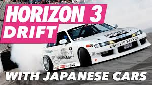 hoonigan rx7 twerk stallion fh3 drift meeting with japanese cars youtube
