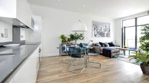 Living Room And Kitchen by 3 Bedroom