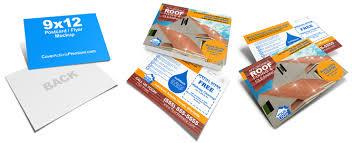 9 x 12 eddm postcard mockup template cover actions premium