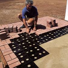 How To Make A Brick Patio by Patio Pal Brick Laying Guides Make It Easy To Build A Designer