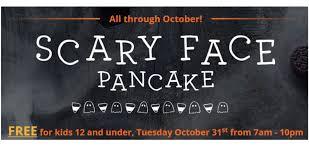 ihop black friday ihop free scary face pancake southern savers