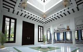 Modern Moroccan Mesmerizing Modern Moroccan Style Interior Design Skylight At