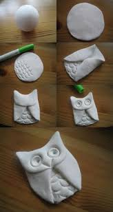clay owls clay owl owl ornament and clay