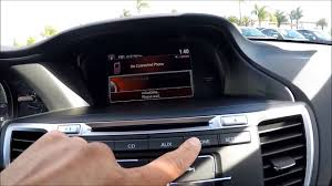 how to pair your phone to 2015 honda accord lx or sport youtube