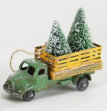 foster farm truck ornament