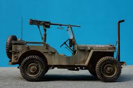 wwii jeep in action willys jeep w m2 machine gun 1 24 finescale modeler essential