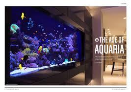 international aquarium design the city magazine