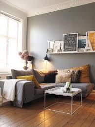 Wohnzimmer Gardinen Modern Gemütliche Innenarchitektur Wohnzimmer Grau Gelb Gardinen Modern