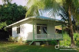 one bedroom steel beach bungalow small prefab house kits light