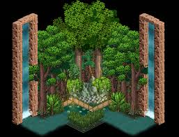 jungle room habbocreate