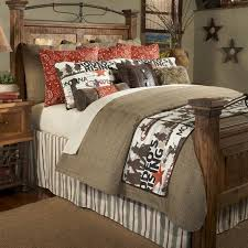 Cowboy Bed Sets Cowboy Rodeo Rustic Bedding Collection Santa Fe Ranch