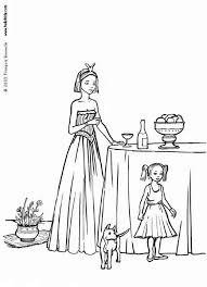 dog coloring pages online princess and dog coloring pages hellokids com