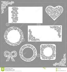 ornament wedding kit stock photos image 36354923