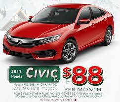 honda car locator monthly specials