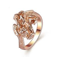 dragon rings gold images K design animal jewelry personality rose gold dragon rings for jpg