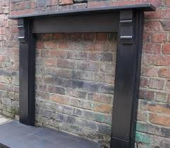 edwardian fire surround in slate archive