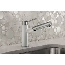 Blanco Kitchen Faucets by Blanco 441488 Alta Compact Polished Chrome Pullout Spray Kitchen
