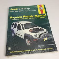 details about jeep liberty haynes repair manual covering all