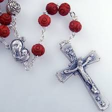 beautiful rosaries rosebud rosary