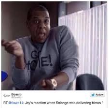 Jay Z Memes - whatjayzsaidtosolange twitter reacts to jay z solange elevator
