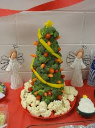 spark and all veggie christmas tree