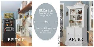 ikea furniture donation ikea hack from dark to farmhouse fab hutch hometalk