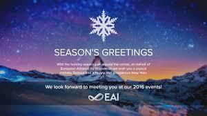 season greetings eai