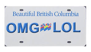 Banned Vanity Plates Seriously Bc U0027s Banned Vanity License Plates