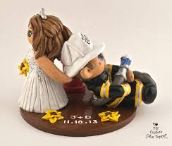 fireman cake topper dragging fireman groom wedding cake topper my custom