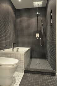bathroom tile ideas modern great use of a small space it clean functionable and not
