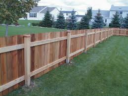 cedar privacy fence styles wood privacy fence styles and designs