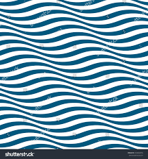 wavy stripes seamless pattern abstract fashion stock vector