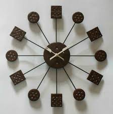 Unique Clock by Decorative Wall Clock To Beautify Simple Home Interior 4 Home Decor
