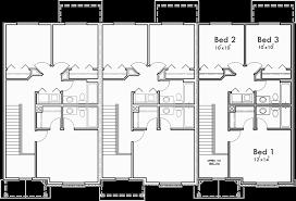 Typical Brownstone Floor Plan Triplex Brownstone Craftsman Townhouse T 419
