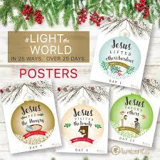 lighttheworld printables by the headed hostess free