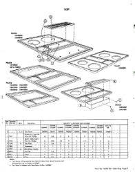 Jennaire Cooktop Parts For Jenn Air 2300 Cooktop Appliancepartspros Com