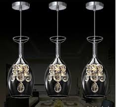 Wine Glass Pendant Light New Modern Wine Glasses Wineglass Chandelier Light Lights