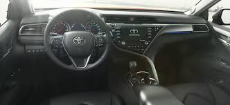 Toyota Camry 2013 Interior The 2018 Toyota Camry Has Been Officially Revealed Kinsel