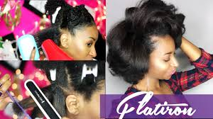 best flat iron sspray for african american hair how to flat iron natural hair for silky results curlynikki