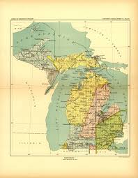 White Lake Michigan Map by Glifwc Ceded Territory