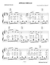jingle bells sheet music christmas sheet music sheet music free
