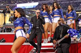 pitbull thanksgiving day halftime show dallas cowboys