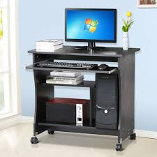 Computer Small Desk by Small Desk On Wheels 91 Beautiful Decoration Also Small Computer