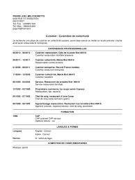 apprentissage en cuisine restauration cv page 1 1 fichier pdf