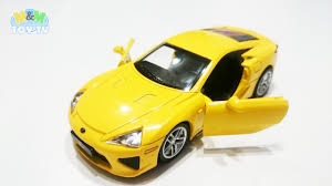 lexus lfa tires series of unboxing and presenting diecast cars part thirteen 13
